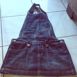 Buffalo overall denim dress